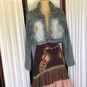 Younique jean jacket Sz 1X